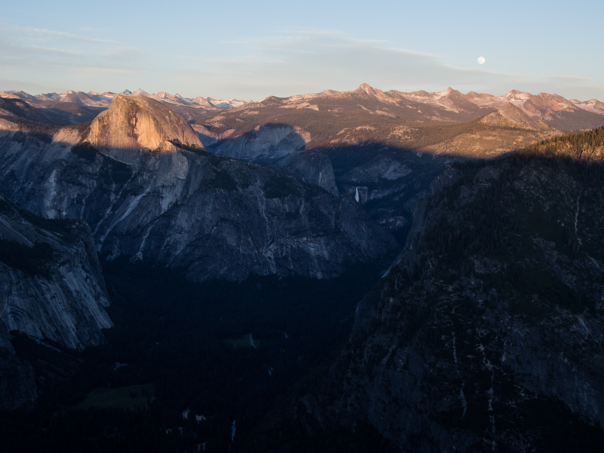 Half Dome and the High Sierras