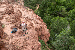 Photographer in Supai