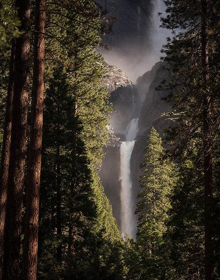 Yosemite Falls in the Summer