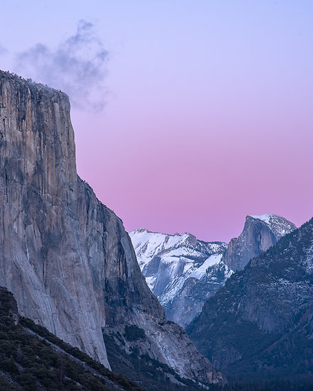 The Valley in Pink