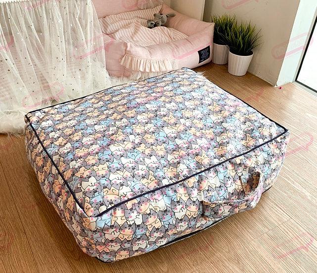 Suitcase ผ้าแคนวาสลายแมว