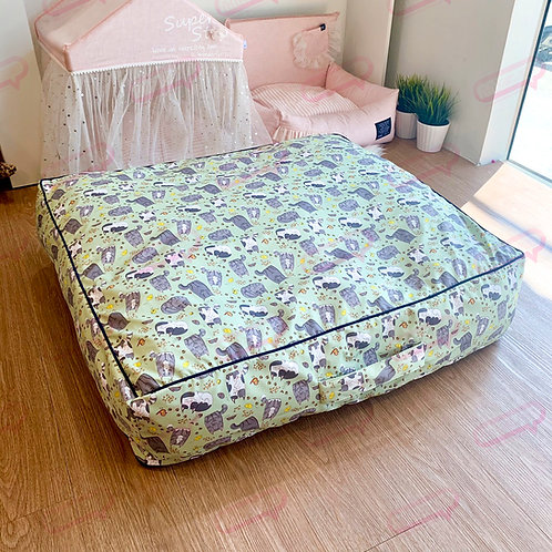 Suitcase ผ้ากันน้ำแมวเขียว