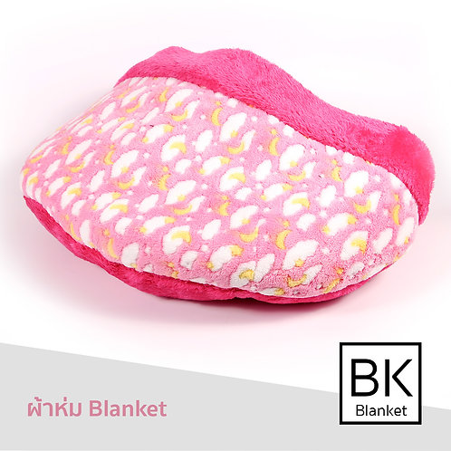 Blanket ผ้าขนเมฆชมพู