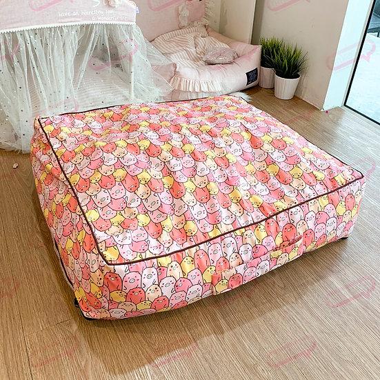Suitcase ผ้าแคนวาสหมู