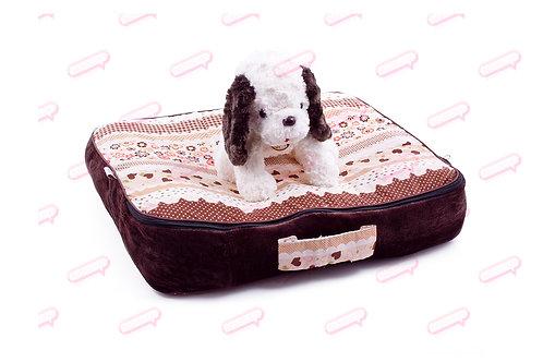 Suitcase สตรอเบอร์รี่นำ้ตาล