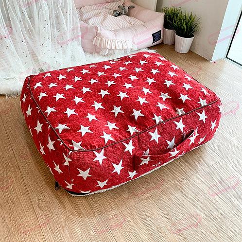 Suitcase ลายดาวแดง