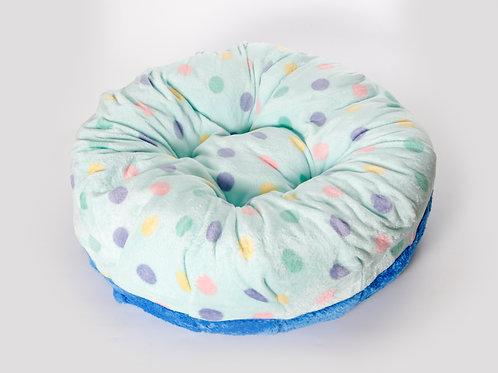 Cozy Bed ขนเป็ดเทียม ลายจุดมิ้นท์
