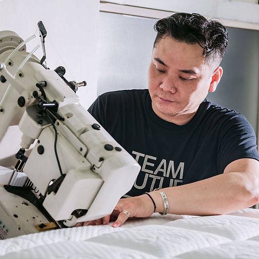 『小林師傅手工縫製客製床墊』