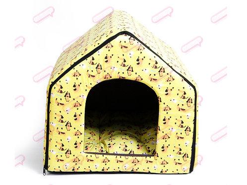 House Zip TC หมาเหลือง