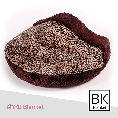 Blanket ผ้าขนลายเสือดาว 2