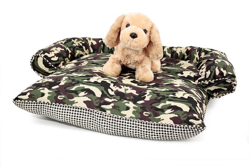 Day Bed ลายทหารเขียว