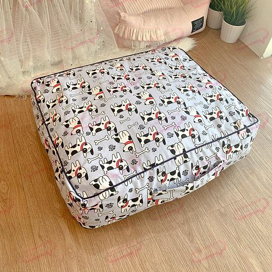 Suitcase ผ้าแคนวาสหมากระดูก