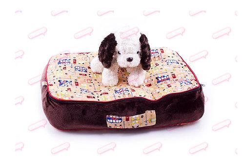 Suitcase ลอนดอนน้ำตาล