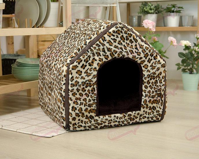 House Zip ผ้าขนเสือดาว