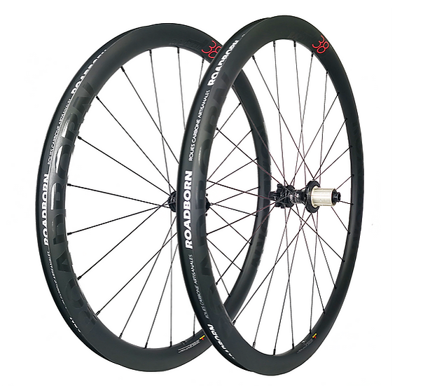 Roues Carbones ROADBORN RAPTOR Disc 38mm
