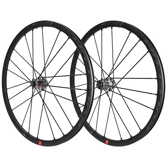 Paire de Roues FULCRUM RACING ZERO 2-WAY FIT C19 DISC à Pneus (Center Lock)