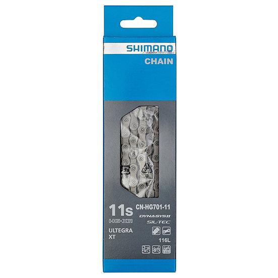 Chaîne SHIMANO 11V HG701 ULTEGRA / XT
