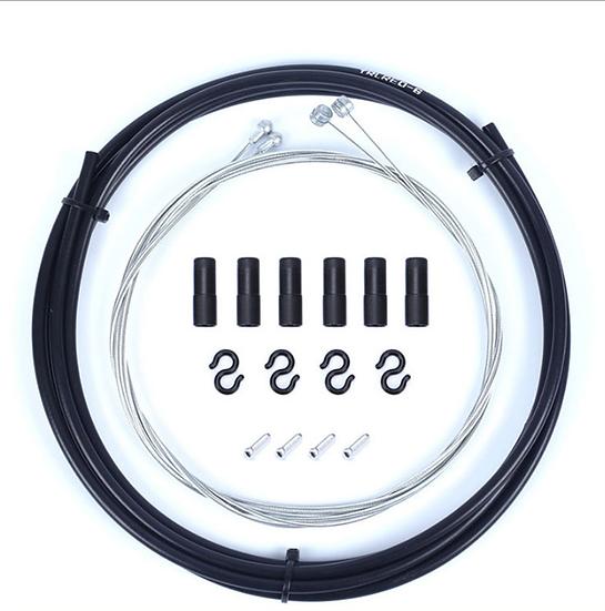 Kit Cables+Gaines Freins Noir