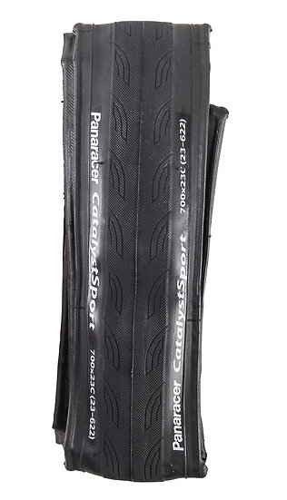 Pneu PANARACER CATALYST SPORT 700x23c Souple Noir