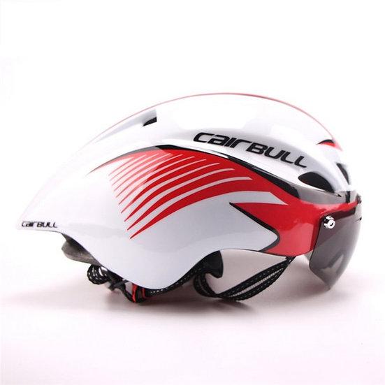 Casque CAIRBULL TT Blanc/Rouge