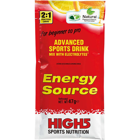 Boisson Énergétique HIGH5 ENERGY SOURCE 4:1 Agrumes  (50 g