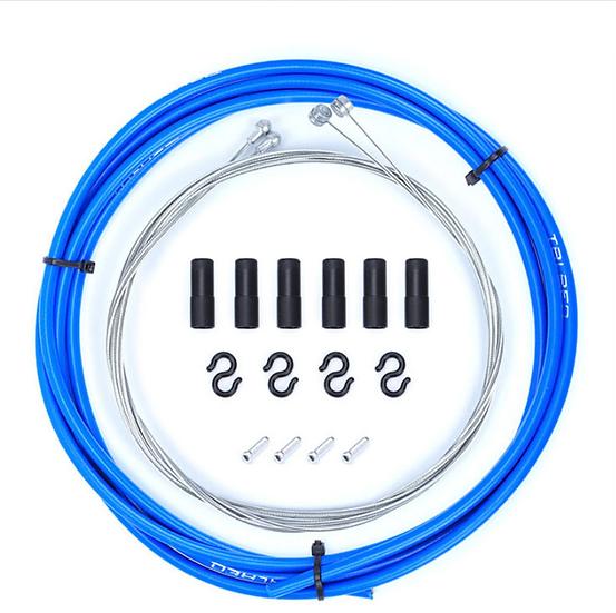 Kit Cables+Gaines Freins Bleu