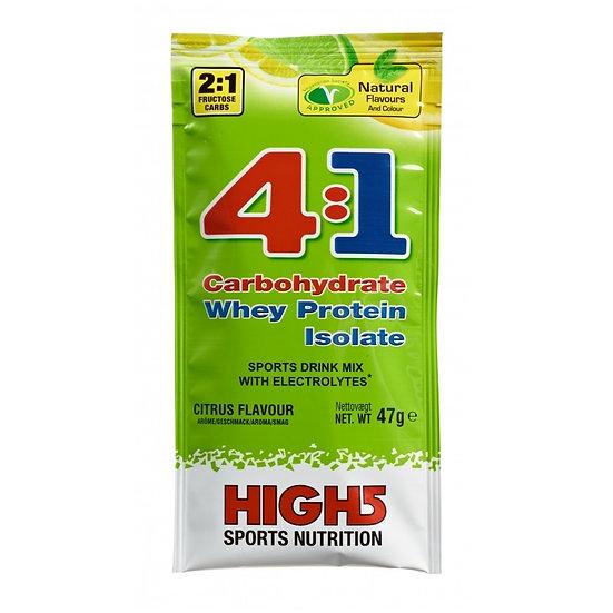 Boisson Énergétique HIGH5 ENERGY SOURCE 4:1 Fruits Rouges (50 g)
