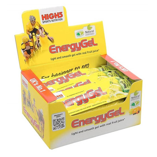 Gel Énergétique HIGH5 Fruits Rouges (38 g)