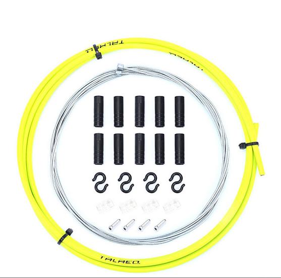 Kit Cables+Gaines Derailleur Jaune
