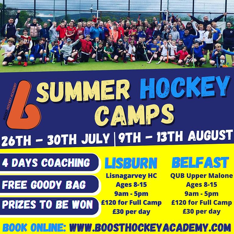 Boost Hockey July Camp  - Lisburn