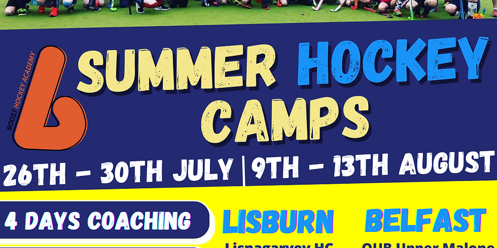 Boost Hockey July Camp  - Belfast