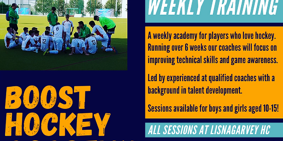Under 13 Weekly Academy
