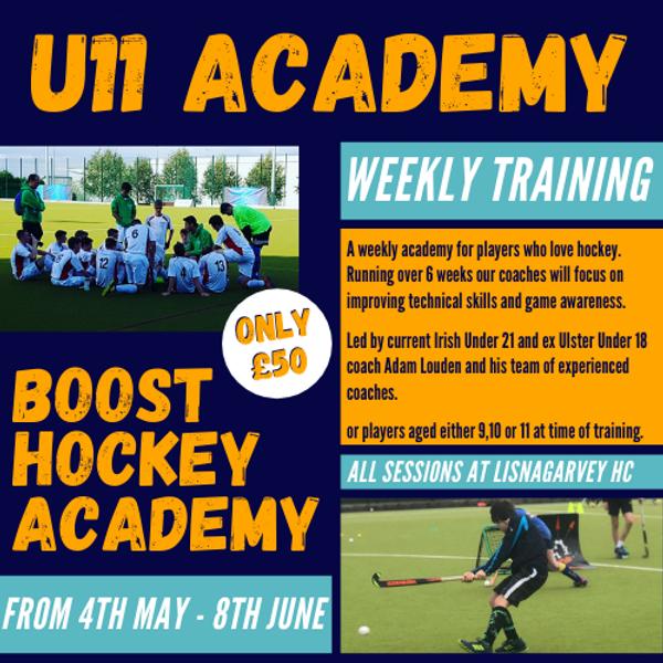 Under 11 Weekly Academy - Spring