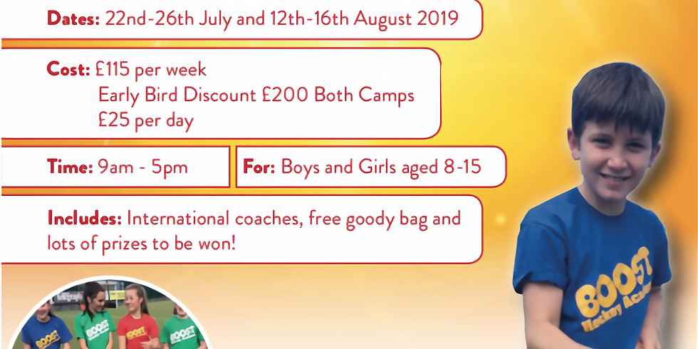 Boost Hockey August Camp  (Aug 12th - 16th)