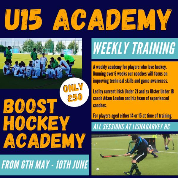 Under 15 Weekly Academy - Spring