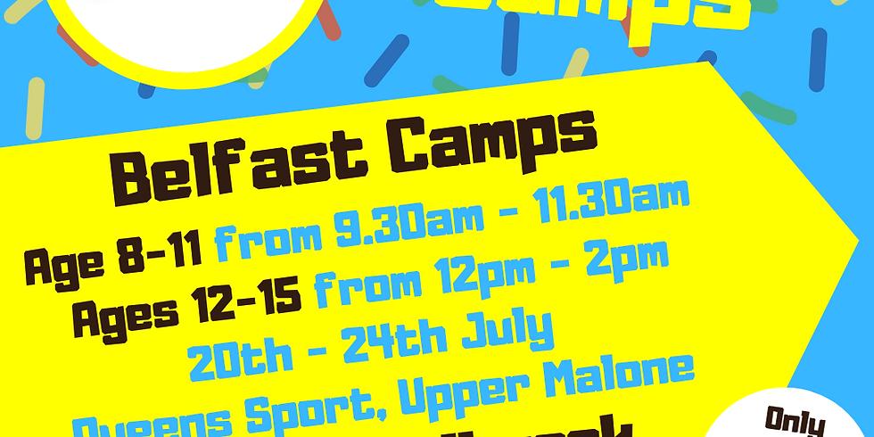 Belfast Mini Camp Age 12-15 (July 20th-24th)