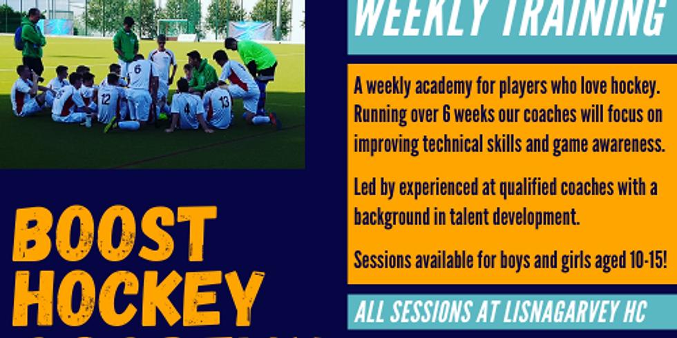 Under 15 Weekly Academy