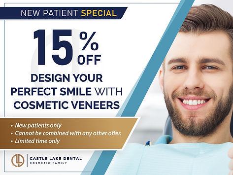 Castle Lake Dental_15% off Design Your P