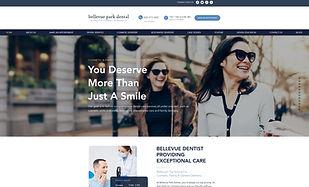 Bellevue Park Dental_Website Design by G