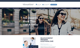 Bellevue Park Dental_Website Design by G