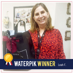 DFW Dental Service_WaterPik Winner_Leah