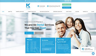 K Family Dentisty_Website Design by GMed