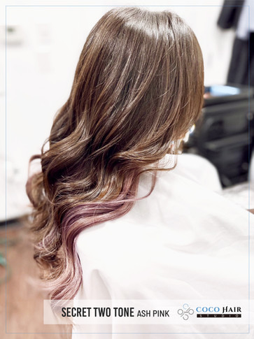Secret Two Tone with Ash Pink