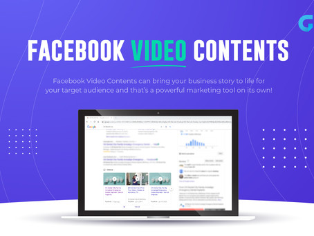 Facebook Video Contents | GMedia Digital Marketing in Dallas, TX