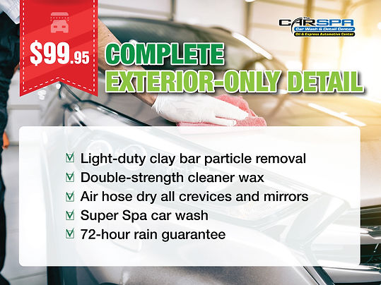 CarSpa_Complete Exterior-Only Detail_sns