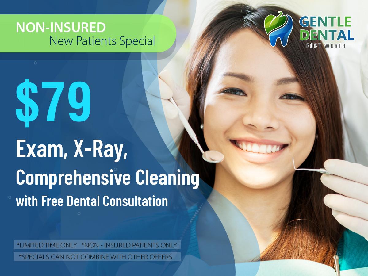 Gentle Dental_$79 Exam, X-Ray, Comprehen
