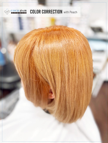 Color correction with Peach