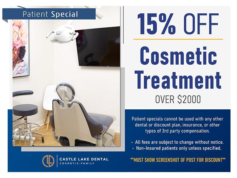 Castle Lake Dental_Patient Specials Prom