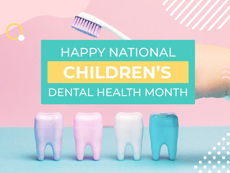 Celebrate National Children's Dental Health Month with these Tips from Irving, Texas Family Dentist!