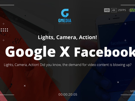Googe X facebook | GMedia Digital Marketing in Dallas, TX